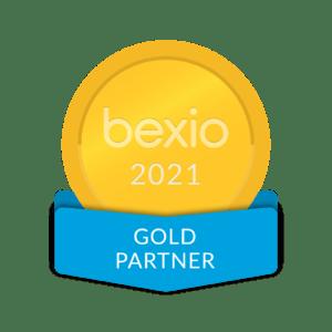 Logo bexio-gold-partner